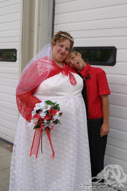 عكسهاي جالب از يك عروسي